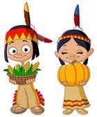 American Indian children