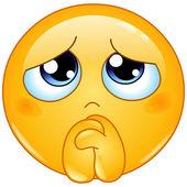 Begging emoticon