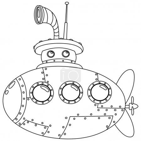 sous-marin décrit