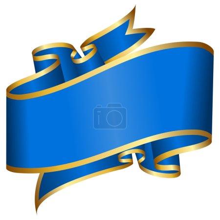 Big blue ribbon
