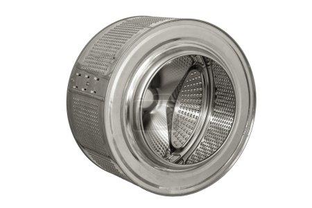 Steel drum of a washing machine.