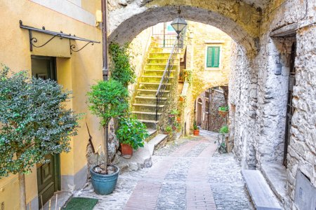 Old city of Dolceacqua, Italy