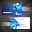 Abstract professional and designer business card t...