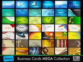Professional business card set