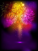 Fire crackers background for Diwali festival celebration in Indi