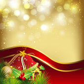 Merry Christmas greeting card invitation card or gift card deco
