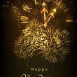 Greeting card or gift card for Happy New Year cele...