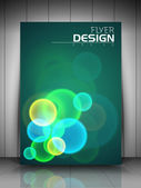 Profesionální obchodní flyer šablony nebo firemní banner design