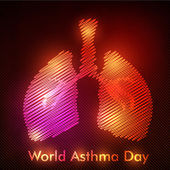 World Asthma Day background