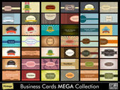 Vintage Business Card mega collection Eps 10 format