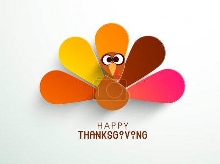 Illustration pour Thanksgiving. SPE 10 . - image libre de droit