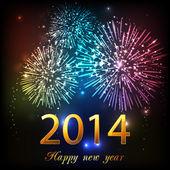 šťastný nový rok 2014 oslava pozadí