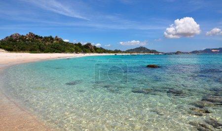 Beautiful tropical scenery, beach Bai Dai