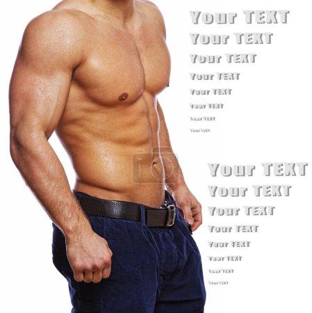 Image of hot guys body