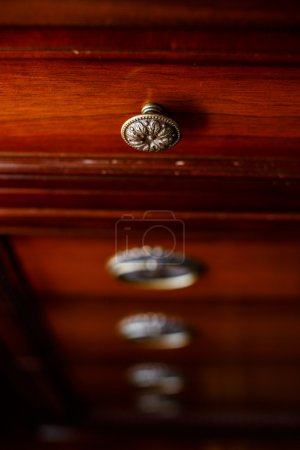 Ancient cupboard in some room