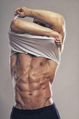 Muscle man body