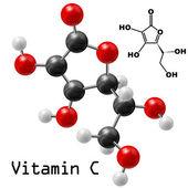 Molekula vitaminu c