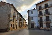 Ulice malé staré město Ares ve Španělsku