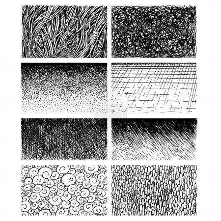 Photo pour Graphiques expressifs peints à la main des textures - image libre de droit