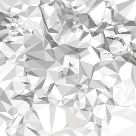 Abstract vector crumpled paper background