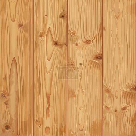 Illustration pour Texture réaliste du bois - image libre de droit