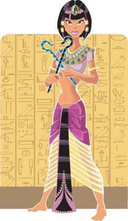 Light tsarina of Egypt