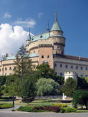 Towers of Bojnice castle, Slovakia