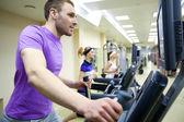 Fitness v tělocvičně
