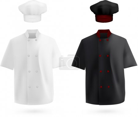 Chef uniform: shirt and hat