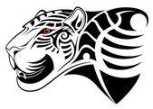 Leopard tribal tattoo
