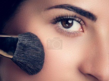 Make-up closeup