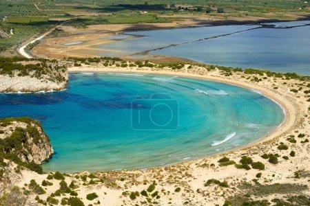 Voidokilia, Messina landscape, Greece
