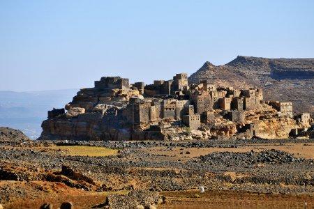 Fortified village in Yemen