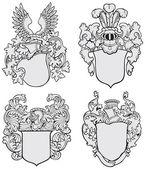 Set of aristocratic emblems No3