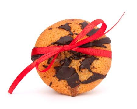 Photo pour Muffins enveloppés festifs isolés sur fond blanc - image libre de droit