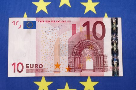 Photo for Euro money banknotes close up - Royalty Free Image