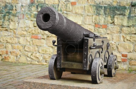 Old Cannon Near The Fortress Wall...