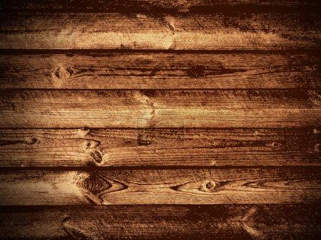 Illustration pour Illustration du fond naturel en bois foncé - image libre de droit