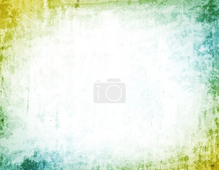 Illustration for Abstract Grunge Colored Background, Copyspace for Your Text - Royalty Free Image