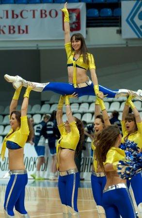 Cheerleaders groupe VIP dance