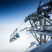 CableWay at winter - alpen resort