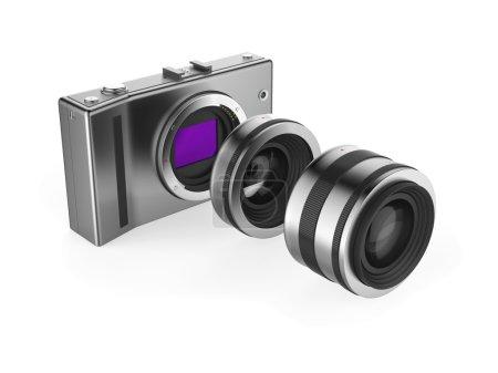 Mirrorless camera system