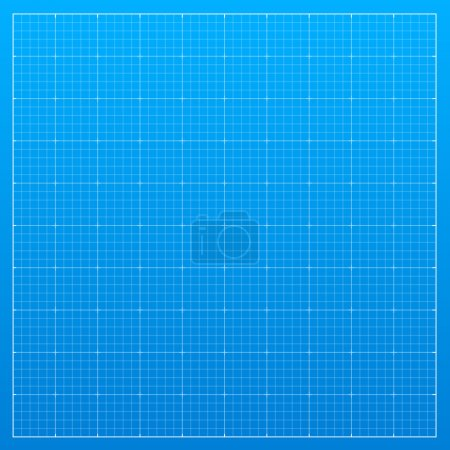 Illustration for Blueprint background. Vector illustration - Royalty Free Image