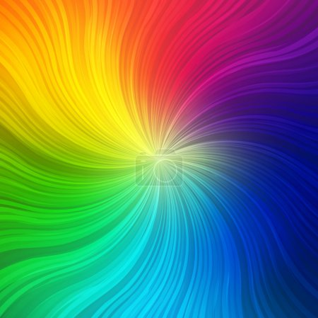 Rainbow concept background