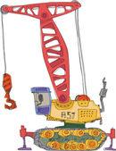 Crane - cartoon