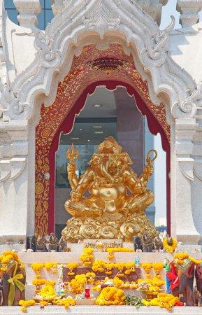 Photo pour Sanctuaire Ganesh à Bangkok, Thaïlande - image libre de droit
