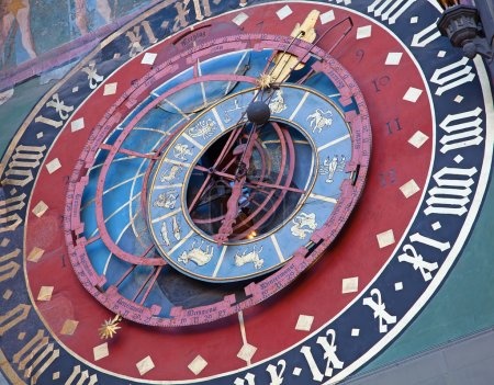 zodiacal clock in Bern