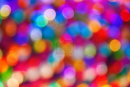 Photo for Blurred defocused multi color lights - Royalty Free Image