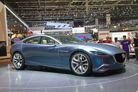 Mazda concept preview on the