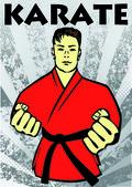 Martial arts poster karate,iaido,kendo, judo,jiu-jitsu